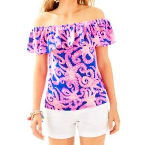 NWOT Lilly Pulitzer La Fortuna Top - size M